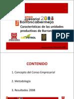 Presentacion Segundo Censo Empresarial 2008