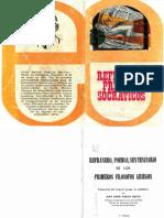 García, J. (1972). Refranero, Poema, Sentenciario de Los Primeros Filósofos Griegos. (3ra. Ed) Madrid_Edime
