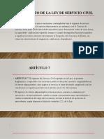 diapositivas de servicio civil
