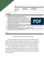 Dissertação - Lógica e Argumentação Jurídicas