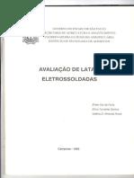 AVALIAÇÃO DE LATAS ELETROSSOLDADAS