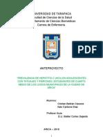 UNIVERSIDAD DE TARAPACA - 2003