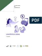Curso Let Portug Lic Linguística Geral