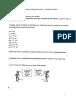 Ficha de avaliação nº 2 Matemática 6º ano - 2013