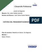 1.-Historia del pensamiento administrativo