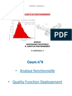 Cours 4 Analyse Fonctionnelle & QFD