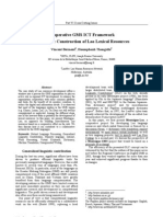 Cooperative GMS ICT Framework Case study