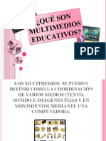 Qué son Multimedios Educativos