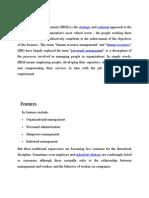 Human resource management-final