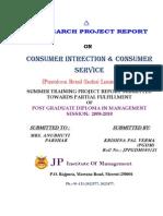 Internship report on Pantaloon Retail India LTD