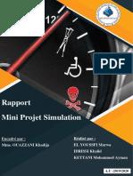 Mini-Projet simulation Groupe6