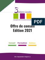 Offre de conseil - Edition 2021