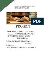 strategia didactica