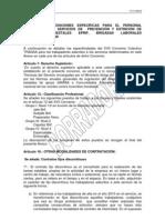 Anexo VII- Disposiciones Especificas para el Personal adscrito a los Servicios de Prevención y Extinción de Incendios Forestales EPRIF, Brigadas Laborales Preventivas Y BRIF a incluir en el XVII Convenio Colectivo empresa Tragsa