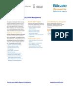 Global Logistics & Supply Management Factsheet