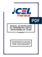 TD-550 manual de instruções