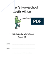 ank End-Word Family Workbook, Donnette E Davis, St Aiden's Homeschool