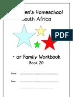 ar End-Word Family Workbook, Donnette E Davis, St Aiden's Homeschool