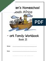 ark End-Word Family Workbook, Donnette E Davis, St Aiden's Homeschool