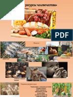 Пищевые ресурсы человечества