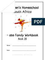 ate End-Word Family Workbook, Donnette E Davis, St Aiden's Homeschool