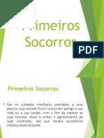 AULA 2 - PRIMEIROS SOCORROS (1)