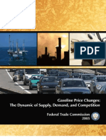 Gasoline Price Changes-Federal Trade Commision 2005