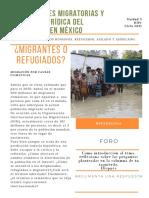 CALIDADES MIGRATORIAS Y CONDICIÓN JURÍDICA DEL EXTRANJERO EN MEXICO