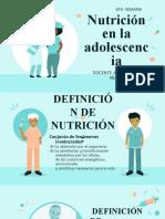 NUTRICION Y DIETO TERAPIA