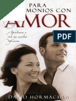 Para Matrimonios Con Amor_ to M - Dr David Hormachea