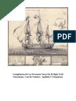 Compilacion de La Presencia Vasca en El Siglo XVIII Venezolano-