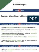 Unidad III. Campos Magneticos y Electromagneticos