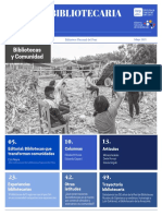 Gaceta Bibliotecaria Nº40- Biblioteca Nacional del Perú 2021-200 años de fundación.