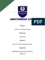 RESUMEN METAS Y FUNCIONES DE LA ADMINISTRACIÓN FINANCIERA-1