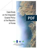 Case Study on the Integrated Coastal Policy of the Republic of Korea
