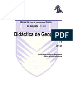Didactica Geografia II Modulo