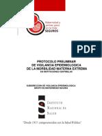PROTOCOLO VIGILANCIA EPIDEMIOLOGICA MME COLOMBIA 2011