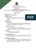 Plano MKT Digital