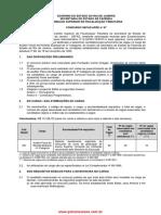 edital ICMS RJ 2013 FCC