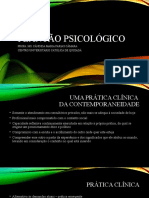 Aula 2 - Plantão psicológico - contemporaneidade