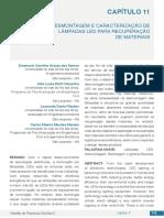 DESMONTAGEM E CARACTERIZAÇÃO DE LÂMPADAS LED PARA RECUPERAÇÃO DE MATERIAIS