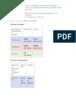 Los pronombres demostrativos y adjetivos demostrativos en francés