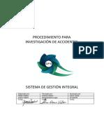 DPS-PR-HSEQ-002 Procedimiento Para Investigación De Accidentes