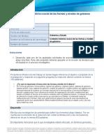 Contexto histórico-social de las formas y niveles de gobierno