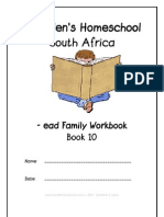 ead End-Word Family Workbook, Donnette E Davis, St Aiden's Homeschool, South Africa