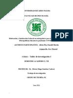 Motivación y Satisfacción Laboral en Trabajadores Por Teletrabajo en Lima Metropolitana Durante La Pandemia COVID-19