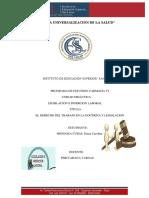 FARMACIA VI, Legislación e Inserción Laboral, Mendoza Cubas Diana Carolina