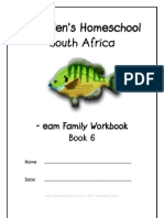 eam End-Word Family Workbook, Donnette E Davis, St Aiden's Homeschool, South Africa