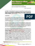 RESOLUCION 036 - aprobacion de expediente tecnico de mahuay puentes