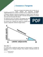 Matematica - Seno, Cosseno e Tangente